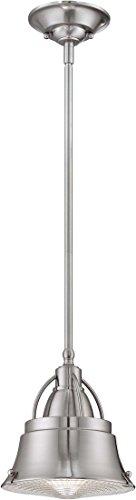 Quoizel CDY1508BN Cody Mini Pendant Lighting, 1-Light, 100 Watts, Brushed Nickel (9