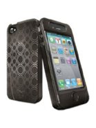 iSkin Solo FX Case for iPhone 4G - Carbon Black ()