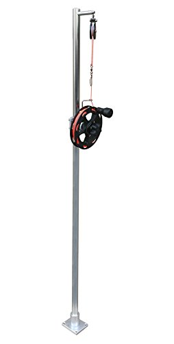 Brocraft Single Reel Planer Board Mast System by Brocraft