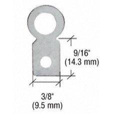 CRL Small Round Eyelet Flat Metal Type Hangers