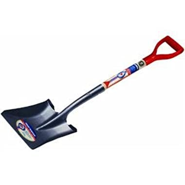 Ames True Temper 1564500 Square Point True American D Shaped Wood Handle Shovel