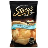 Stacy's Simply Naked Pita Chips, 8-Ounce Bags (Pack of 3)