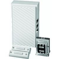 Hardwired Chime Kit (THOMAS & BETTS CK221RP White Hardwired Chime Kit)
