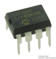 DIP-8 8 BIT 1 piece MICROCHIP PIC12F683-I//P MICROCONTROLLER MCU 20MHZ PIC12