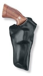 Gould & Goodrich Double Retention Holster Fits S and W 10, 12, 13, 14, 15, 18, 19, 48, 64, 65, 65LS, 66, 67, 4-Inch BBL. (Left Hand, Black)