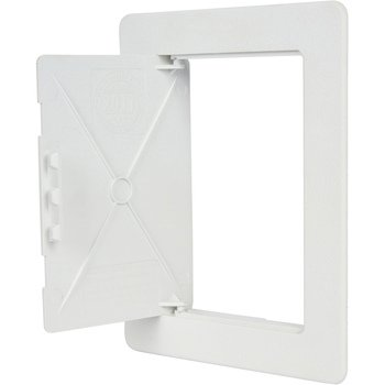 Wallo 5 X 7 Inch Plastic Access Door, Reinforced Hinged Access Panel For  Drywall Walls And Ceilings.