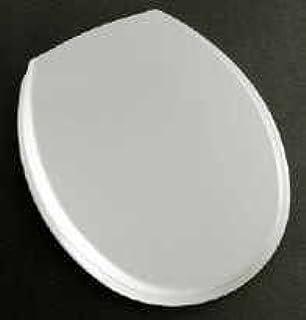 Bemis White Tecnoplast Toilet Seat With Plastic Hinge Amazonco - Bemis white toilet seat