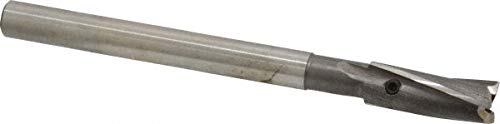 3/8'' Diam, 5/16'' Shank, Diam, 3 Flutes, Straight Shank, Interchangeable Pilot Counterbore pack of 3 by Value Collection