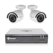 Swann SWDVK-445752-LW 4575 Expandable Surveillance DVR Kit, White