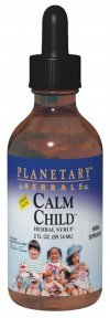 Planetary Herbals Calm Child Herbal Syrup - Includes Soothing Botanicals Chamomile, Lemon Balm, Catnip & More - ()