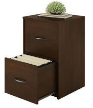 2-Drawer Resort Cherry File Cabinet 24.125