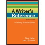 Download A Writer's Reference with Writing in the Disciplines by Hacker,Diana; Sommers,Nancy. [2011,7th Edition.] Spiral-bound PDF