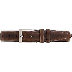 Johnston & Murphy Distressed Casual Belt (Brown - Size 38) (& Calfskin Belt Murphy Johnston)