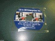 1000PCS 63X80MM BUSINESS CARD CD BOPP SLEEVE JS18BOPP