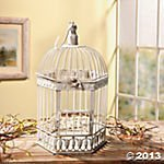 Oriental Trading Company Bird Cage, 7 X 11-Inches, White