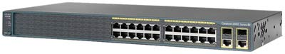 Cisco Catalyst 2960-Plus 24TC-S - switch - 24 ports - manage