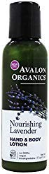 Avalon Organics - Nourishing Hand & Body Lotion Lavender - 2 fl. oz. -  507DD