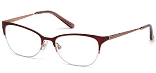 Eyeglasses Guess GU 2584 070 Matte Bordeaux/Clear Lens