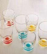 rcle DOF set of 4, Color: Aqua (Kate Spade Summer Circle)