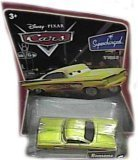 Yellow (Gold) Ramone Disney Cars Movie 1:55 Scale Supercharged Edition Mattel - Mattel Supercharged