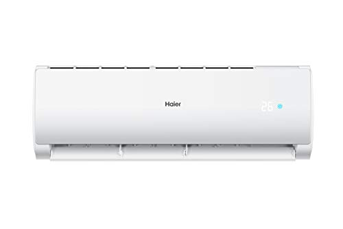 Haier 1 Ton 3 Star Inverter Split AC (Copper, HSU12C-TCS3B(INV), White) 2021 August Split AC with Self Clean Technology: that automatically cleans the evaporator of this AC. Capacity: 1 Ton suitable for Small sized room (120 to 190 square feet). Energy rating: 3 star, Annual energy consumption: 732 KWH consumption, ISEER value: 3.80(Please refer energy label on product page or contact brand for more details)