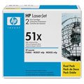HP Q7551XD 51X LaserJet M3027 M3035 P3005 Toner Cartridge (Black 2-Pack) in Retail Packaging (Toner For Hp Laserjet P3005)
