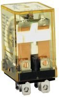(IDEC RH2B-U-DC12V Discontinued by Manufacturer, Relay, Plug-in, DPDT, 10 AMP, 12 VDC)