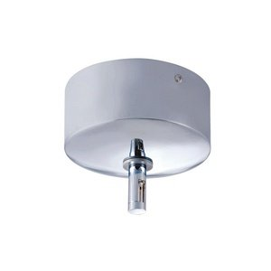 Jesco Lighting MST-12012/300E-CH Accessory - 25 Amp Monorail Surface Mounted Transformer, Chrome - Monorail Transformer Mounted Surface
