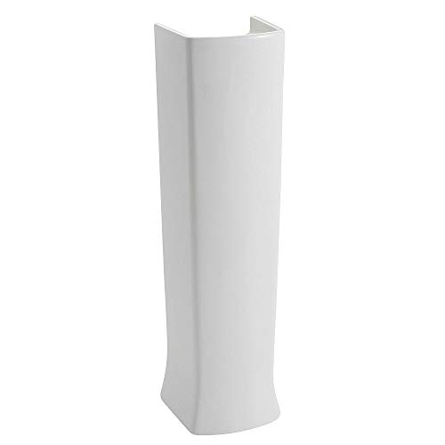 - American Standard 0039000.020 Edgemere Pedestal Leg, White