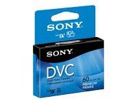 Video, DVC Mini Digital , 60 minute, Premium Chipless, 6mm, 1/pk, Hang Tab [Non - Retail Packaged]