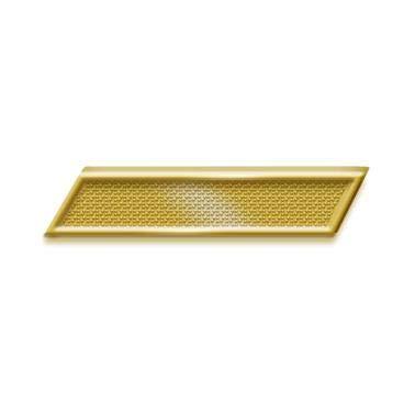 (Gold Service Bar Chenille Pin - Large Service Bar Lapel Pin Award)