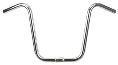 Wald 869 Hi-Rise Cruiser Bike Handlebar (23.5-Inches Wide, Chrome, 10.5-Inch (Bicycle Ape Hanger)