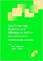 Evaluation For Learning Disability >> Specific Learning Disabilities And Difficulties In Children And