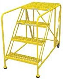 product image for Cotterman 4WP3648A3B8AC2P6 - Work Platform 4 Step Steel 40In. H.- Pack of 2