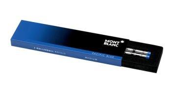 Tintenrollermine MON M blau 2er Montblanc 105159 Rollerball Refill
