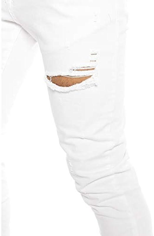 Red Bridge dżinsy męskie slim fit rurki Denim Destroyed M4235: Odzież