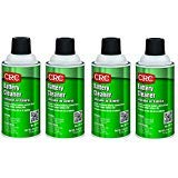 CRC  Battery Cleaner, 11 oz Aerosol Can, Clear (4) by CRC