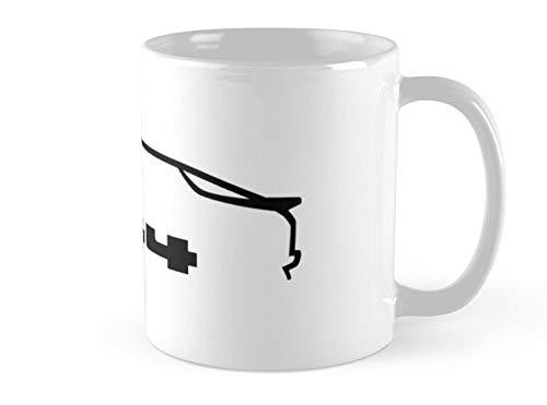 Pre Hero Mug Porsche 944 - black Mug - 11oz Mug - Features wraparound prints - Dishwasher safe - Made from Ceramic - Best gift for family friends