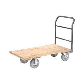 Platform Truck w/Hardwood Deck, 48 x 24, 1200 Lb. Capacity, 8