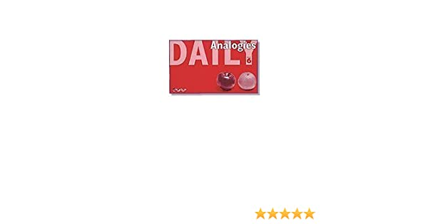 Great Source Daily Analogies: Teacher's Edition Grade 3 (Dailies ...