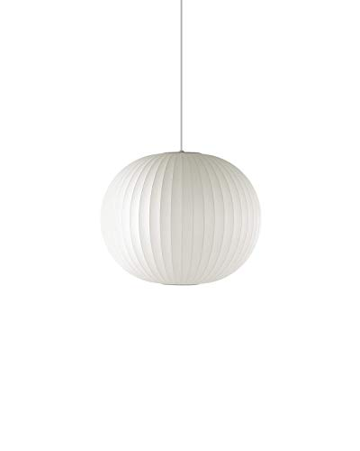 Herman Miller H761 Nelson Ball Pendant Bubble Lamp, Small, White ()