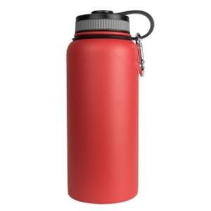 Sarge Knives WB-32RD 32 oz Stainless Steel Red Wave Bottle