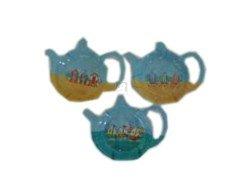 Kent Pottery - Seaside Teabag Holder by Kent Pottery - 4 holders