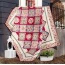 Trellis Garden Quilt Kit by Marilyn Foreman featuring Boundless Heirloom Bloom (Heirloom Trellis)