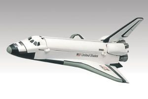 Revell Monogram 1:200 Scale Snaptite Space Shuttle Model Kit