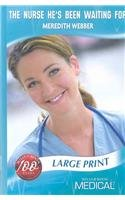 Download The Nurse He's Been Waiting For (Medical Romance Large Print) pdf epub