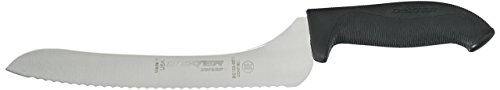 Dexter -Russell 9in Scall. Offset Sandwich Knife w/Hdl, Black