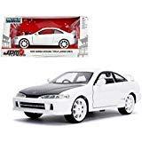 Honda R Type Jdm Integra - New DIECAST Toys CAR JADA 1:24 W/B - Metals - JDM Tuners - 1995 Honda Integra Type-R (Japan SPEC) White 30931
