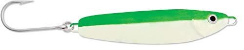 - Luhr Jensen 3 Crippled Herring, Glow/Flo Green Back