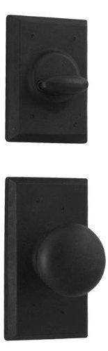 Weslock 07800--F2SL20 Aspen Interior Entry Handle, Black ()